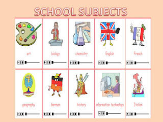 English school subects